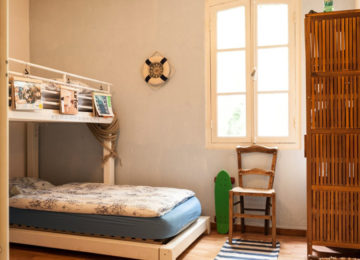 Bunk beds in the Guesthouse