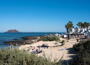 View of sandy beach
