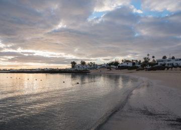 Bay with sandy beach
