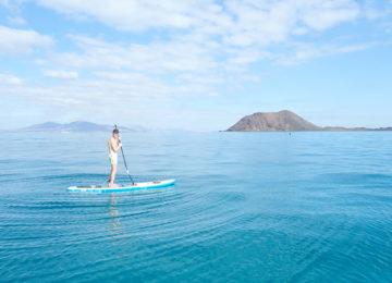 SUP at sea