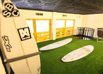 Übungsbereich für Surfkurse