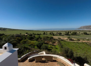 View from the property to the sea