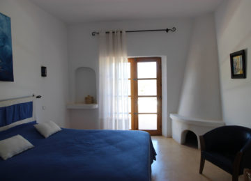 Doppelbettzimmer in der Unterkunft