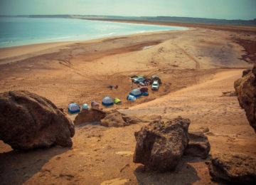 Angola Namibe Trip Camping