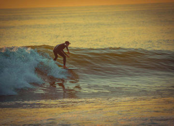 Sunset Surf in Angola