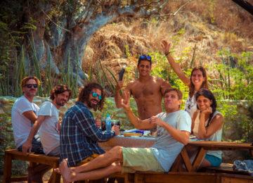 Cabo Ledo Gruppenfoto
