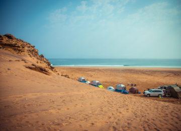 Campingplatz Angola