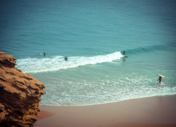 Surfspot in Angola