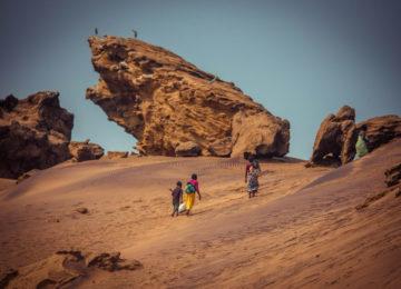 Natur und Locals in Angola