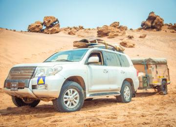 Jeep für Namibe Trip