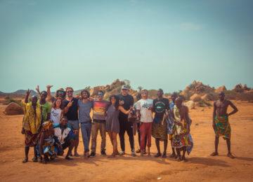 Gruppenbild Angola Namibe Trip 2018