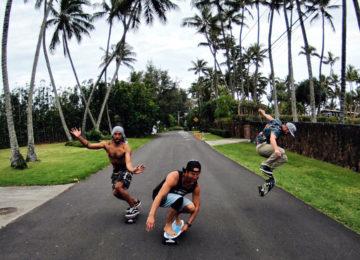 Pata Sudaka Crew beim Skaten