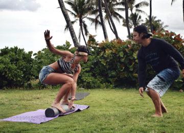 Surftraining mit Coach