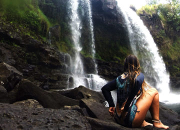 Hawaii Wasserfall