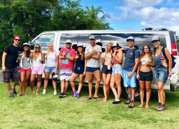 Gruppenbild im Surfcamp