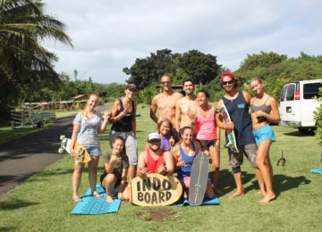 Indo Board Session Oahu