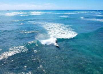 Surfkurs am Diamonds Head