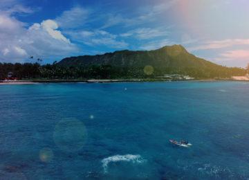 Hawaii Kulisse