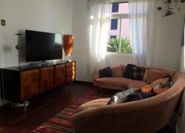 Surfhouse Wohnzimmer mit TV