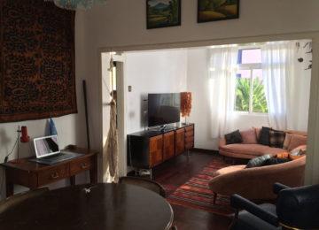 Surfhouse Wohnzimmer und Arbeitszimmer