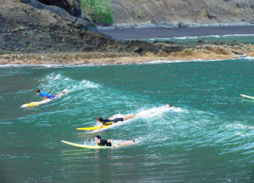 Beginner Session im Wasser