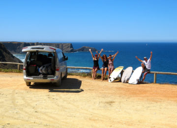 Surfcrew at Arrifana Beach