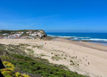Surf beach in the Algarve