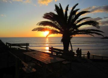 Sunset in Arrifana