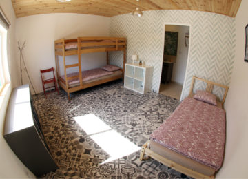 3-bed room in the surf camp