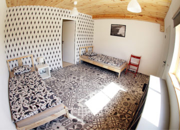Double room at Arrifana Surfcamp