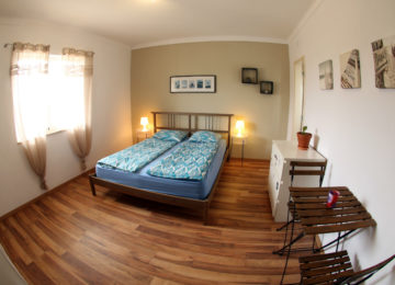 Double bed Canalu Surfcamp