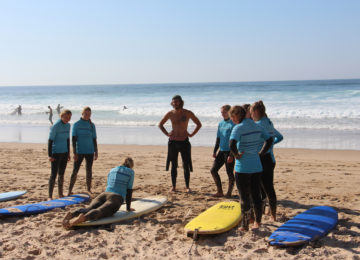 Surf course with Coach