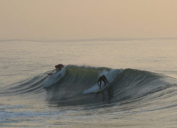 A surfer's pop-up