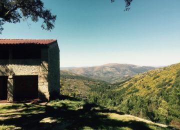 Aussicht von einem Hügel