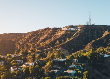 Hollywood Hill in Los Angeles