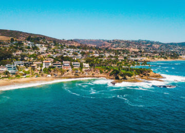 Küstenabschnitt bei San Clemente