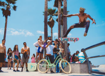 Skater am Venice Beach