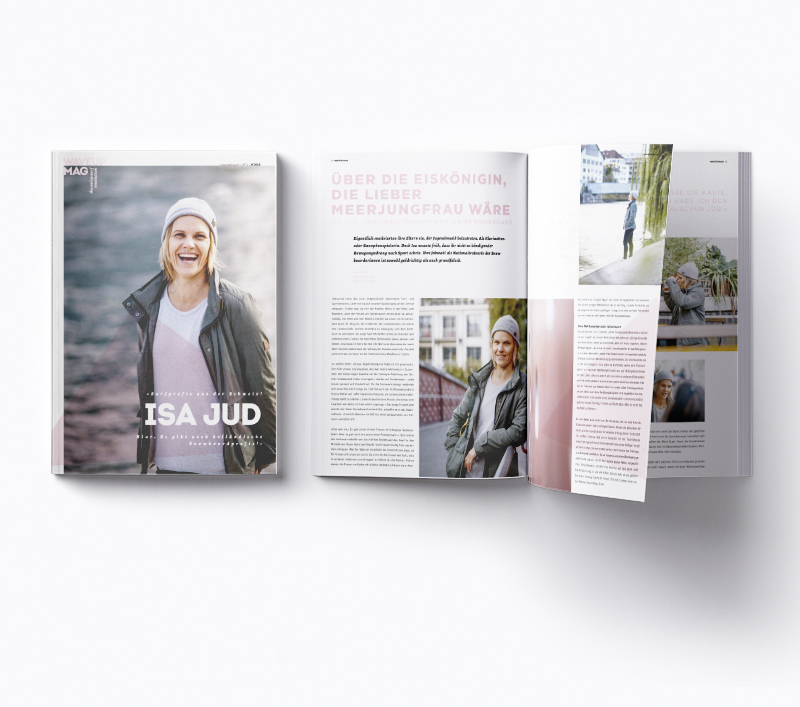 WaveupMag Coverstory with Isa Jud