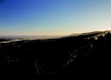 Sunset above Wollongong