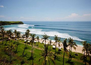 Surf spot in Bali Bukit