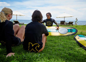 Surfcoach explains the basic rules of surfing