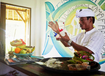 Surfcamp Koch in Bukit during the cooking class