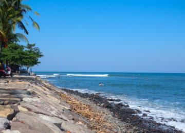 View of Medewi Point
