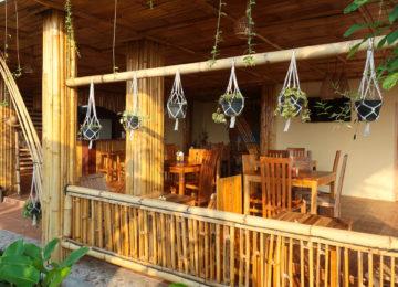 Restaurant area at Surf Resort