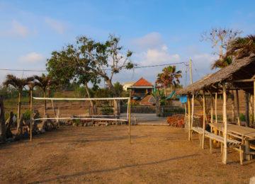 View of medewi Beach Resort