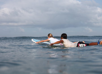 Guest and surf guide in Bali