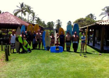 Surfkurs Gruppenfoto