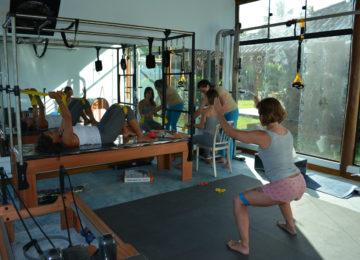 Gym im Surfcamp