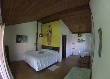 Doppelzimmer im Surfcamp in Brasilien
