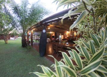 Restaurant im Surfcamp